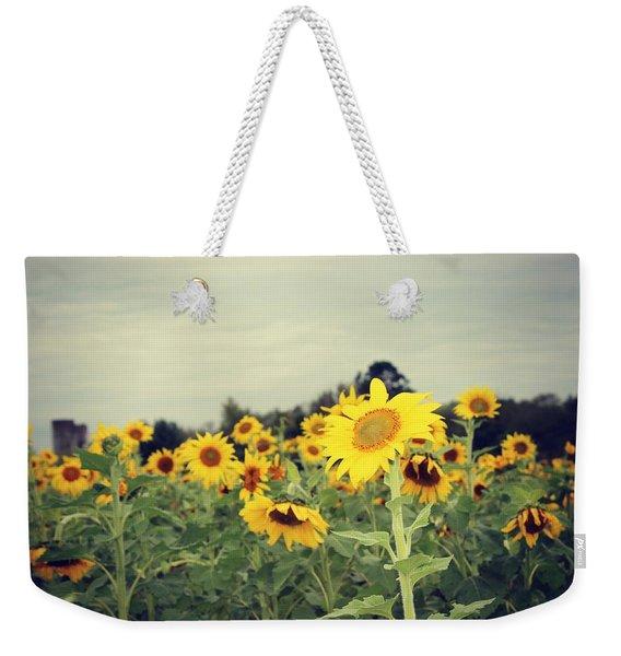 Yellow Fields Weekender Tote Bag