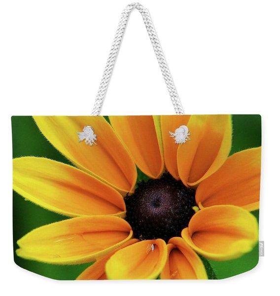 Yellow Flower Black Eyed Susan Weekender Tote Bag