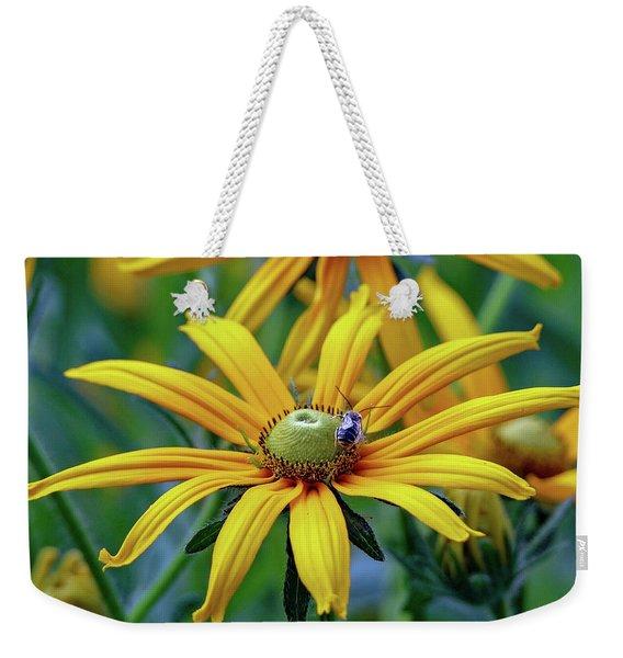 Yellow Flower Weekender Tote Bag