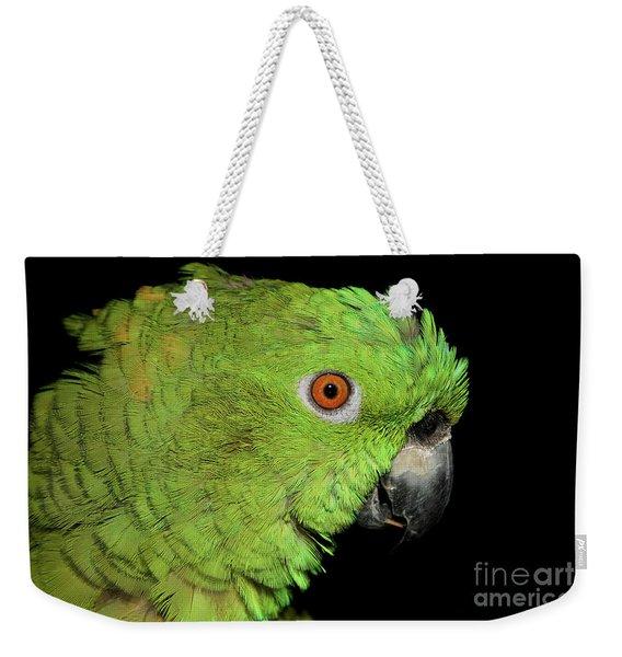 Yellow-naped Amazon Weekender Tote Bag