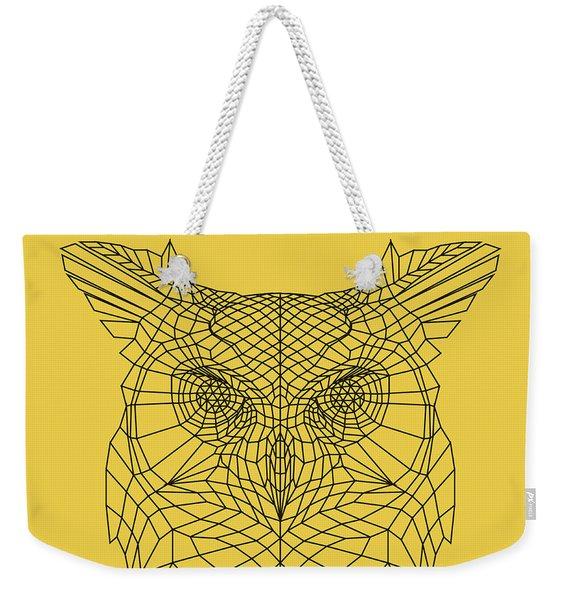 Yellow Owl Weekender Tote Bag