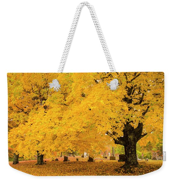 Yellow Show Weekender Tote Bag