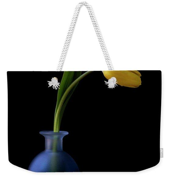 Yellow Tulip Weekender Tote Bag