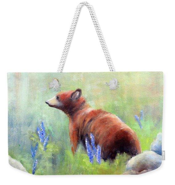 Yellowstone Black Bear Weekender Tote Bag