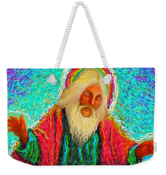 Yhwh Over Us Weekender Tote Bag
