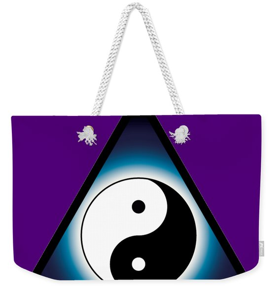 Balance And Oneness Weekender Tote Bag