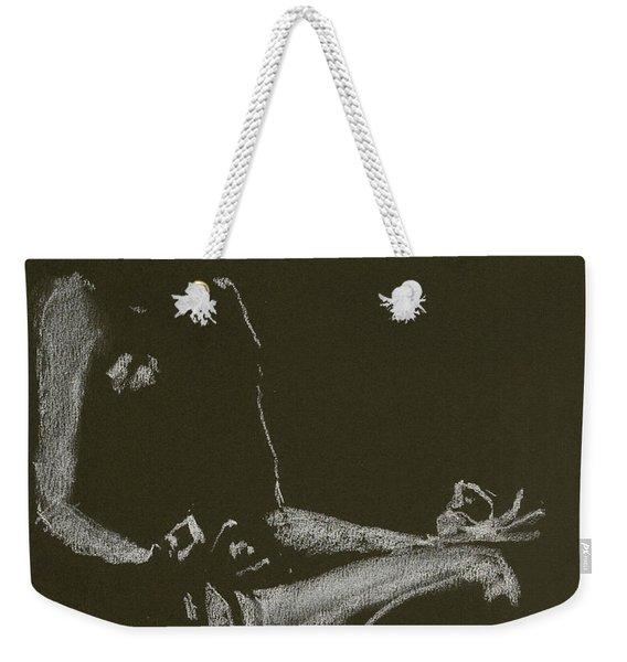 Yoga Position Weekender Tote Bag