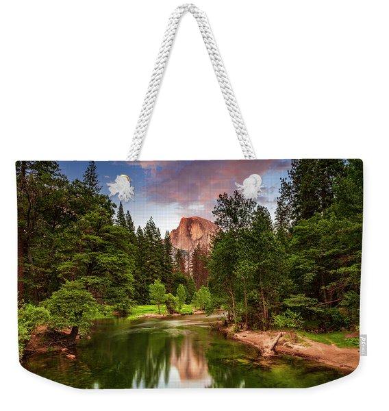 Yosemite Sunset - Single Image Weekender Tote Bag
