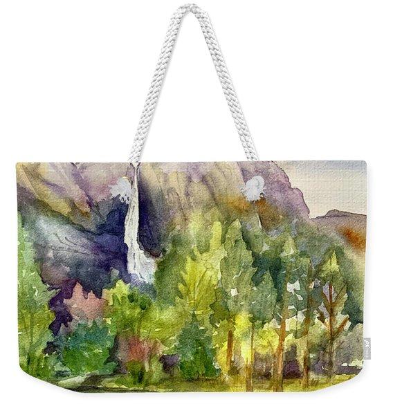 Yosemite Waterfalls Weekender Tote Bag