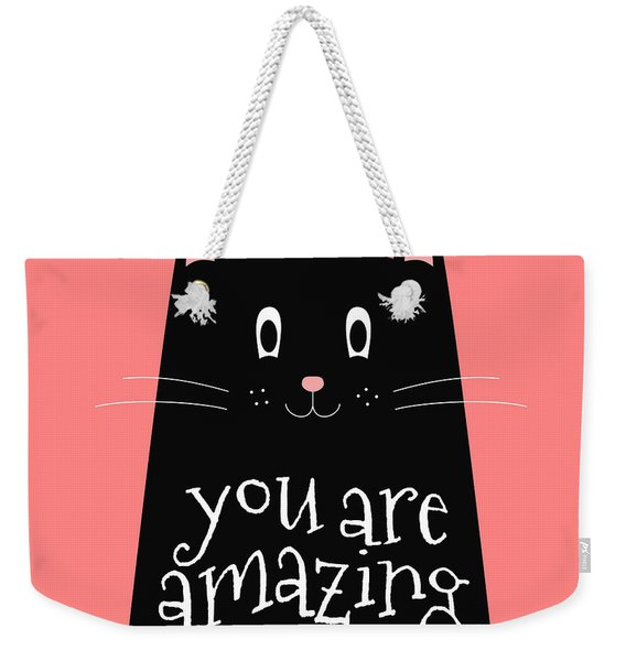 You Are Amazing - Baby Room Nursery Art Poster Print Weekender Tote Bag