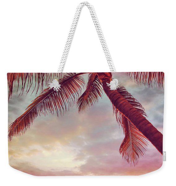 Weekender Tote Bag featuring the photograph You Are Here by JAMART Photography