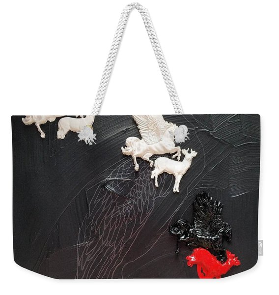 You Can Spot A Stallion A Mile Away Weekender Tote Bag