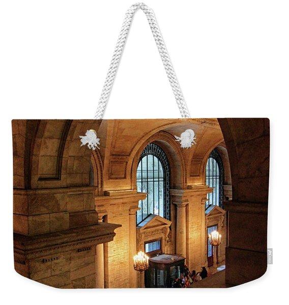 Library Overlook Weekender Tote Bag