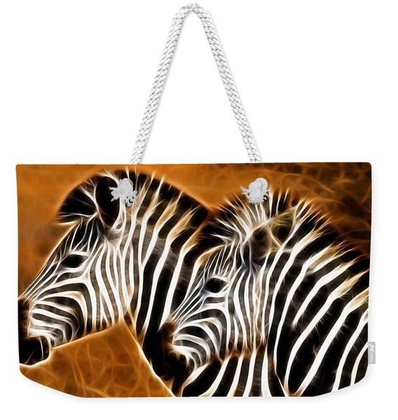 Zebra Brother Weekender Tote Bag