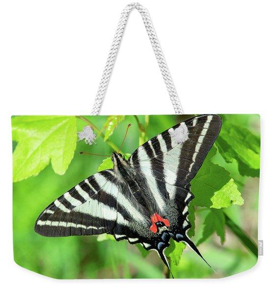 Zebra Swallowtail Din0279 Weekender Tote Bag