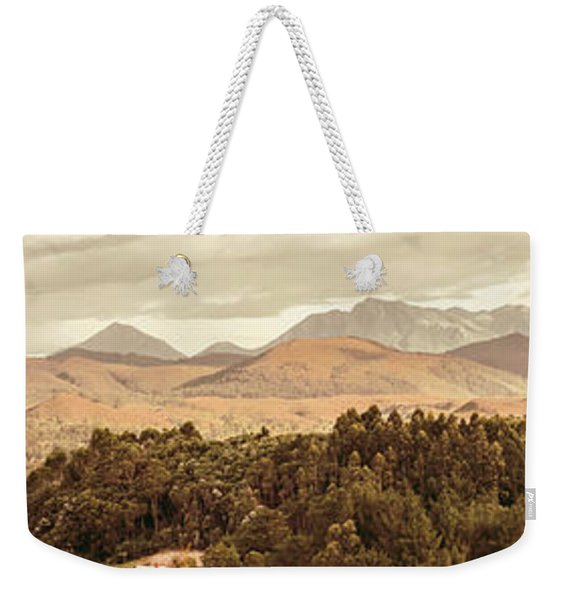 Zeehan And Beyond Weekender Tote Bag
