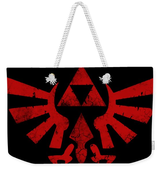 Zelda In Red Weekender Tote Bag