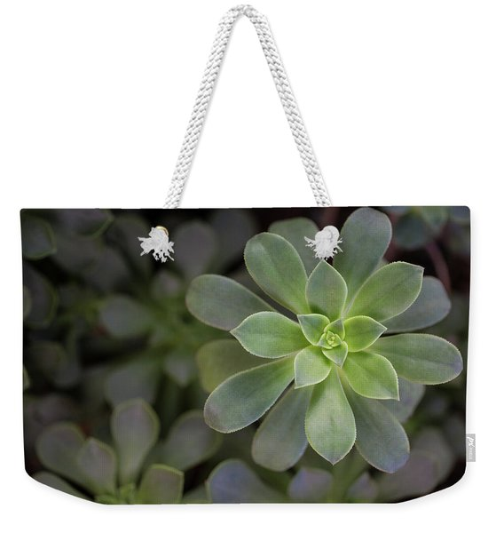 Zen Is Green Weekender Tote Bag