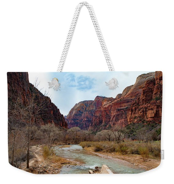 Zion Canyon Weekender Tote Bag