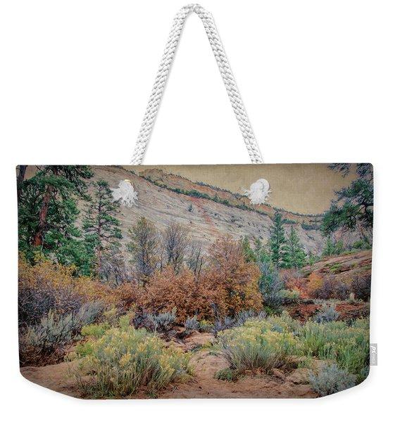Zions Garden Weekender Tote Bag