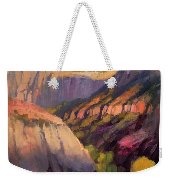 Zion's West Canyon Weekender Tote Bag