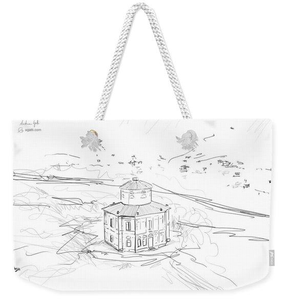 Zizzola Drawing Weekender Tote Bag