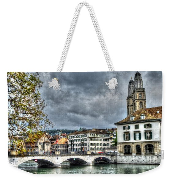 Zurich Switzerland Weekender Tote Bag
