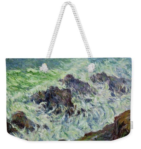 Heavy Weather Weekender Tote Bag