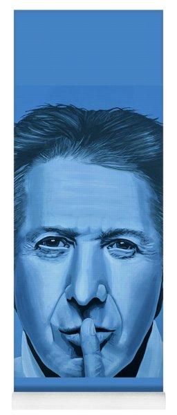 Dustin Hoffman Painting Yoga Mat