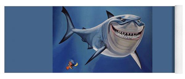 Finding Nemo Painting Yoga Mat