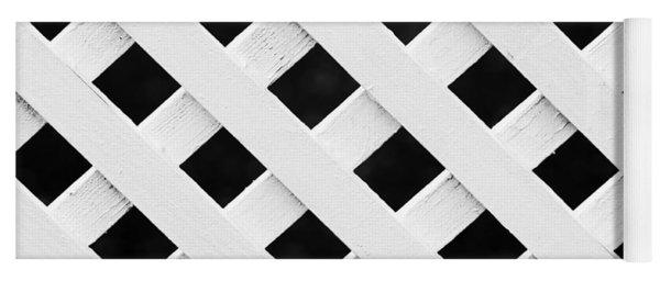 Lattice Fence Pattern Yoga Mat
