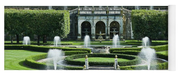 Longwood Gardens Fountains Yoga Mat