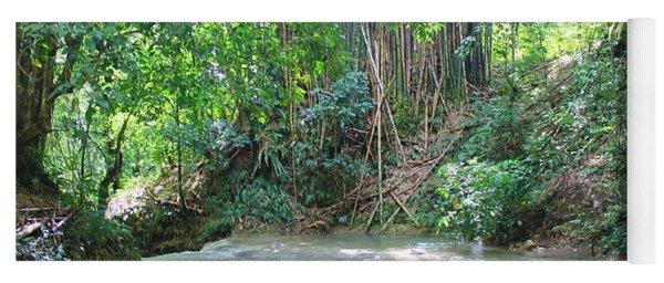 Mayfield Falls Jamaica 11 Yoga Mat