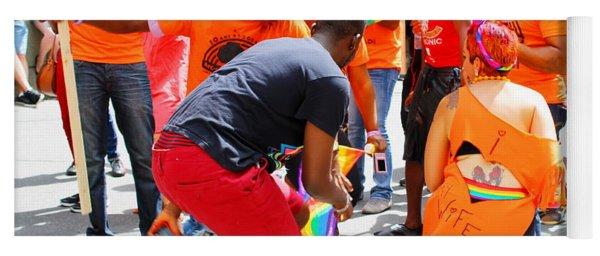 Montreal Gay Pride Parade 3 Yoga Mat