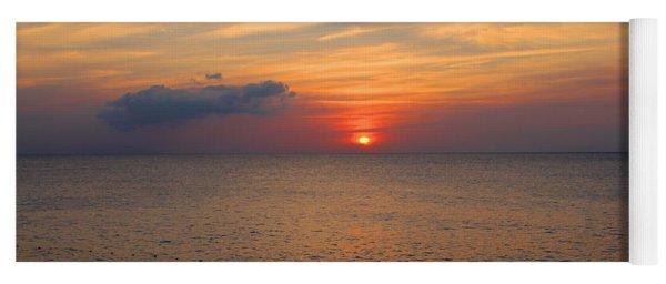Negril Rose Sunset Yoga Mat