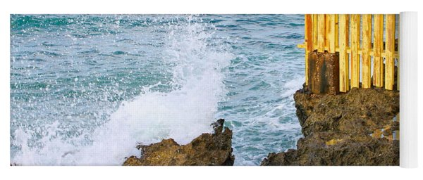 Negril Sea Splash Yoga Mat