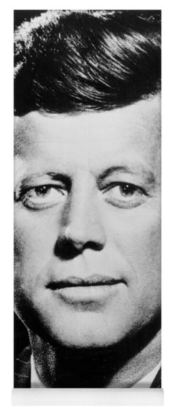 Portrait Of John F. Kennedy  Yoga Mat