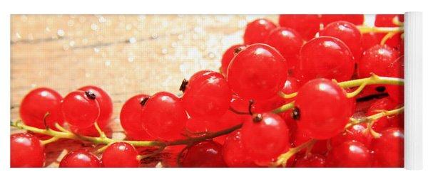 Scarlet Berries Yoga Mat