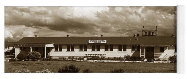 The Fort Ord Station Hospital Administration Building T-3010 Building Fort Ord Army Base Circa 1950 Yoga Mat