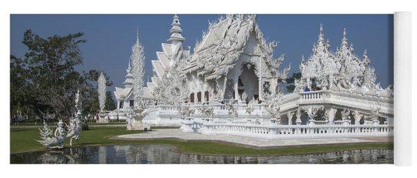 Wat Rong Khun Ubosot Dthcr0002 Yoga Mat