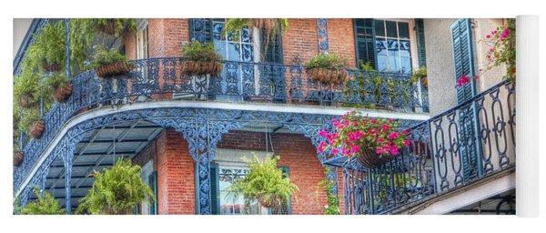 0255 Balconies - New Orleans Yoga Mat