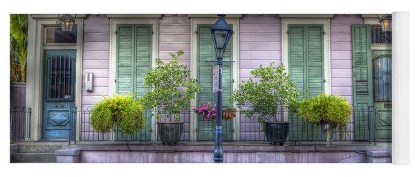 0267 French Quarter 5 - New Orleans Yoga Mat
