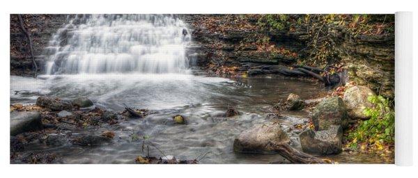 0278 South Elgin Waterfall Yoga Mat