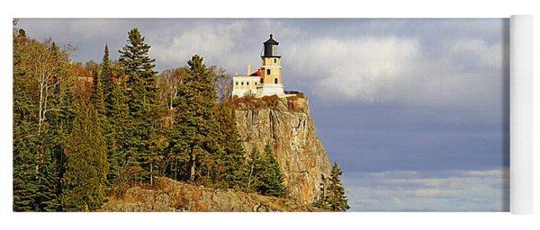 0376 Split Rock Lighthouse Yoga Mat