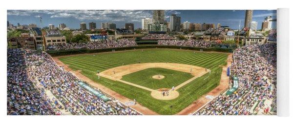 0443 Wrigley Field Chicago  Yoga Mat