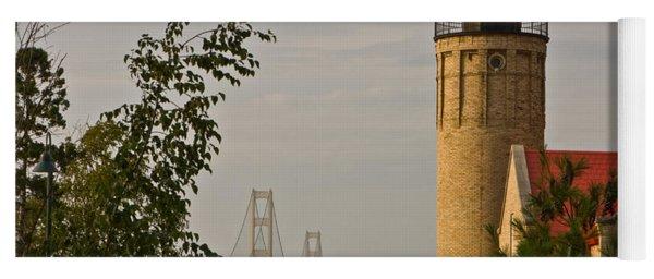 0558 Old Mackinac Point Lighthouse Yoga Mat