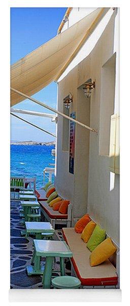 0560 Mykonos Greece Yoga Mat