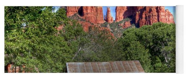 0682 Red Rock Crossing - Sedona Arizona Yoga Mat