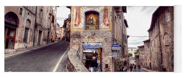 0801 Assisi Italy Yoga Mat