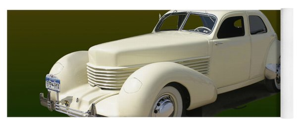 1936 Cord 810 Westchester Sedan Yoga Mat